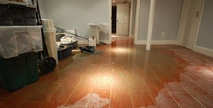 Water Damage In Finished Basement